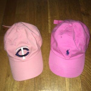 Accessories - Polo by Ralph Lauren neon pink hat